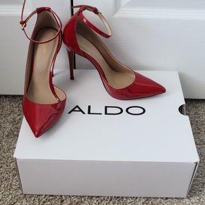 Aldo Red Pumps
